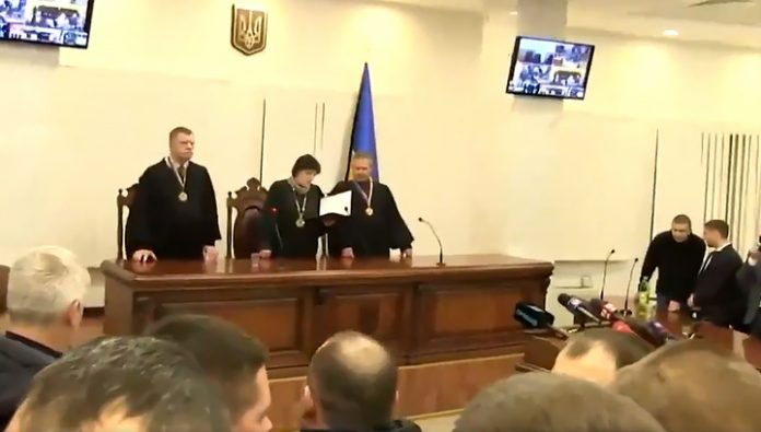 A court in Kiev released under the personal obligation of the former fighters of special forces