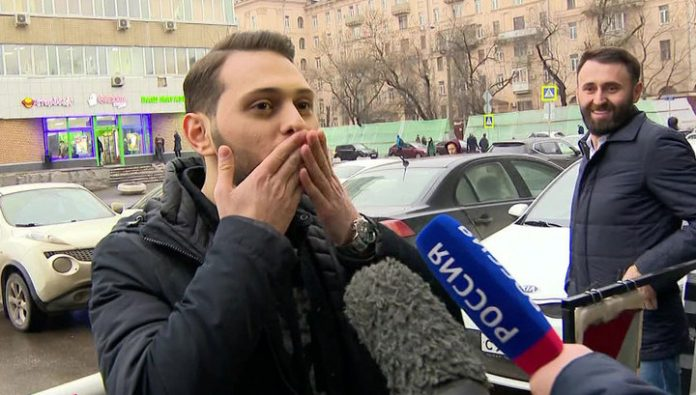 After shooting the video on the New Arbat detained rapper: he surrendered voluntarily