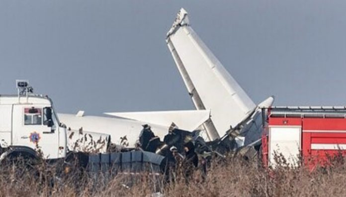 Almaty airport has published a minute-by-minute chronology of the catastrophe of the passenger plane