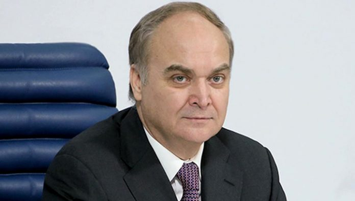 Antonov discussed with Sullivan the relations between Russia and USA