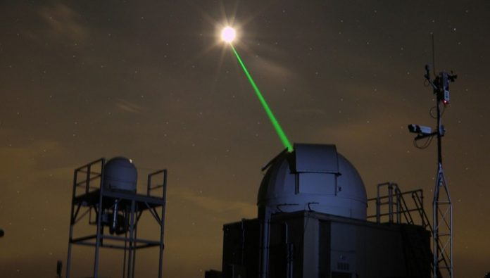 Artificial intelligence has improved the accuracy of the laser tracking system for space debris
