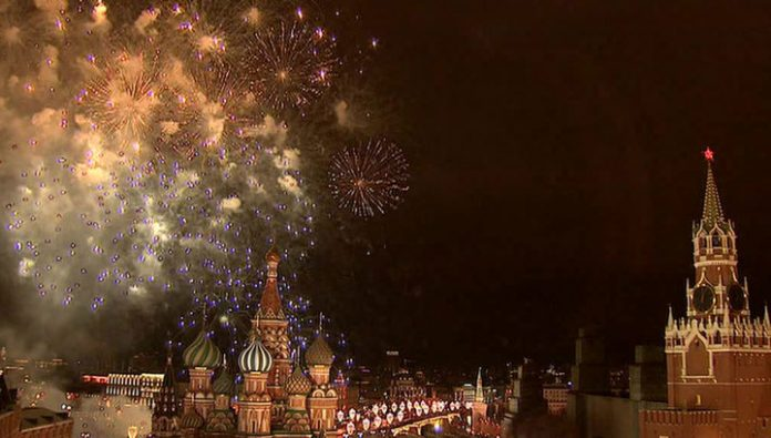 Because of new year fireworks in Moscow will block several streets
