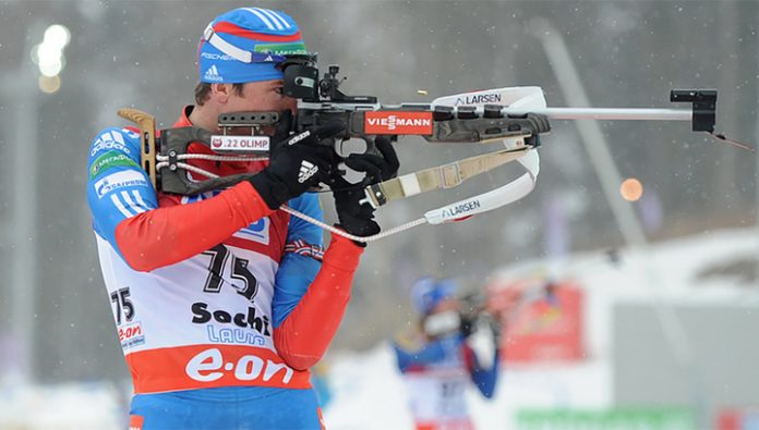 Biathlon. Alexey Slepov – the winner of the sprint in