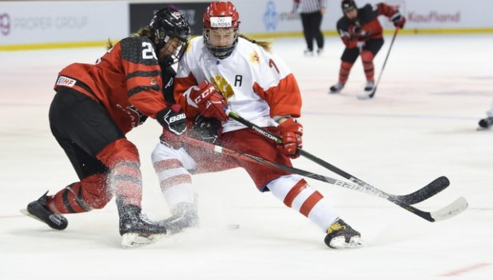 Championship of the world. The Russian hockey players played with 0:2, but lost to Canada in overtime