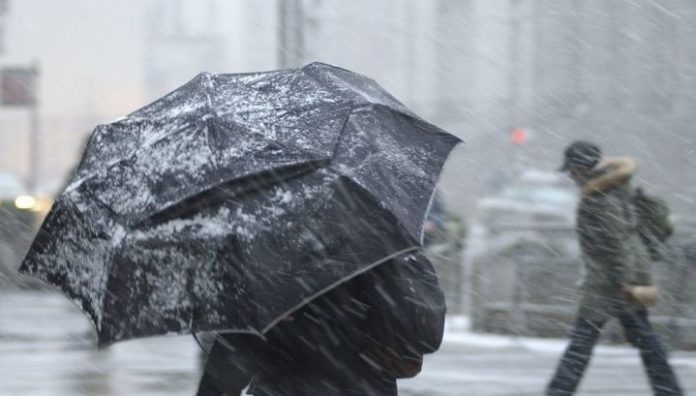 Crimeans warned about the storm on the first day of 2020
