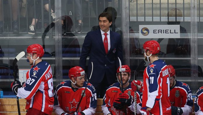 CSKA coach Nikitin – about the game with Lokomotiv: both teams showed everything that is hockey