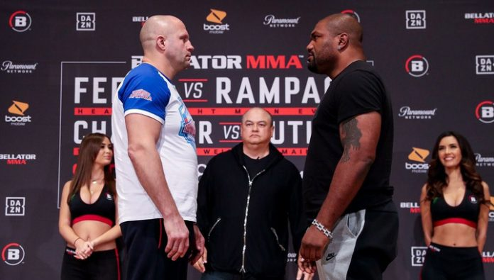 Fedor was injured in one battle with Jackson