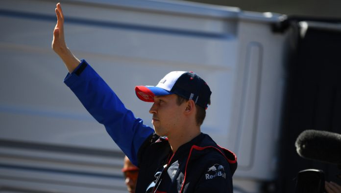 Formula 1. Kvyat became the leader of the season in the number of overtaking
