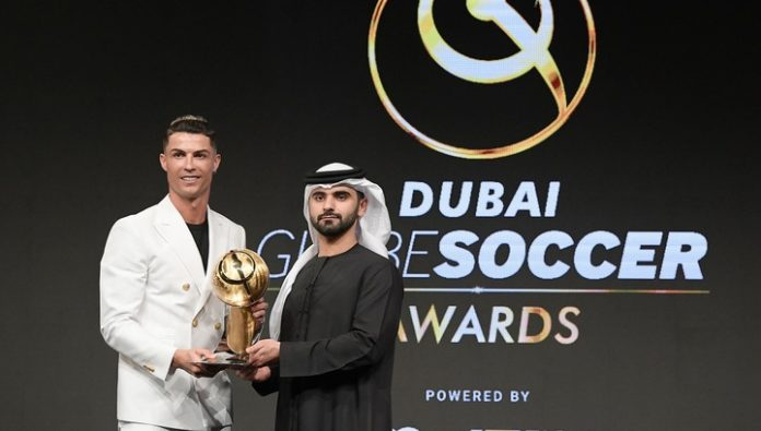Globe Soccer Awards Ronaldo for the fourth time in a row voted footballer of the year