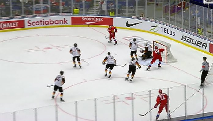 Hockey. New year's Russian team win over Germany