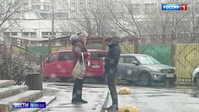 In Moscow detained the thief of Christmas