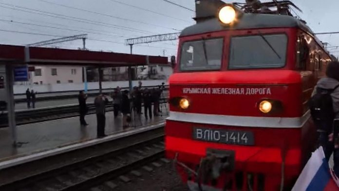 In the Crimea has responded to outrage US about the trains to the Peninsula