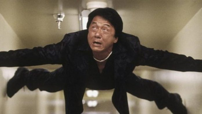Jackie Chan nearly drowned on the set of new film