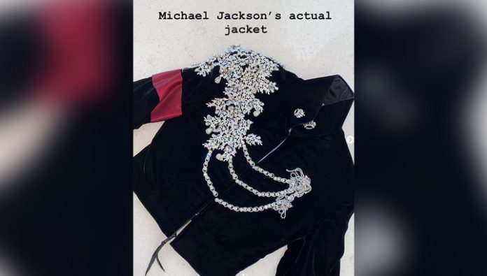 Kardashian gave his daughter a jacket of Michael Jackson for $ 4 million
