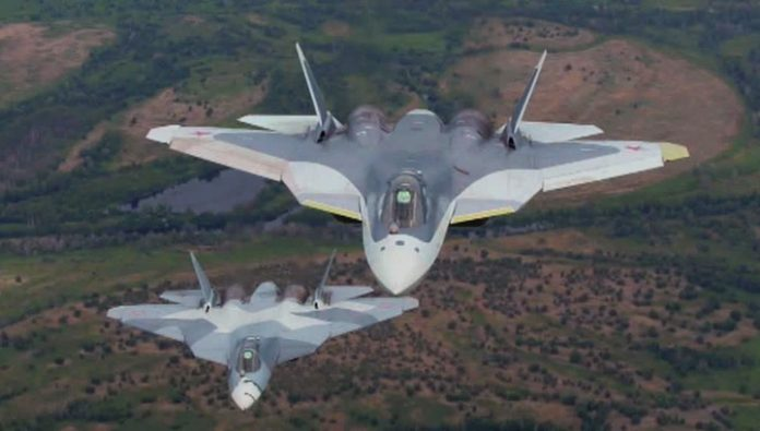 Large-scale deliveries of new su-57 will start in 2020