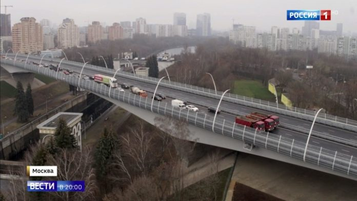 Moscow Continues Improving Road Network! New Highways Still Planned For Next Year!