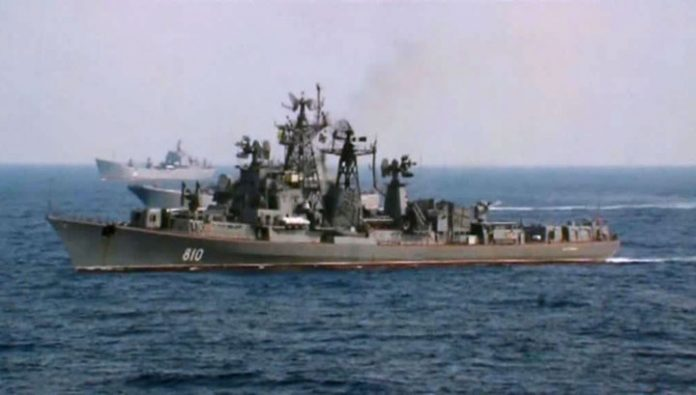 Naval forces of Russia, Iran and China hold exercises in the Indian ocean