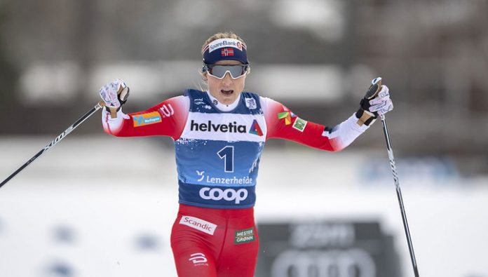 Norwegian Johaug won the stage of Tour de Ski
