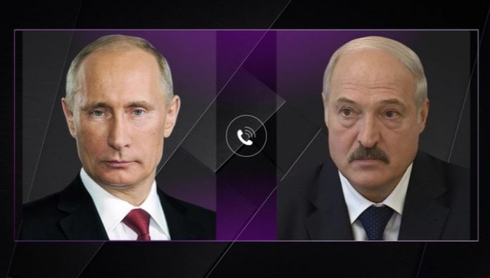 Putin and Lukashenko discussed the supply of oil and gas
