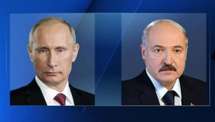 Putin and Lukashenko discussed the supply of oil and gas from Russia