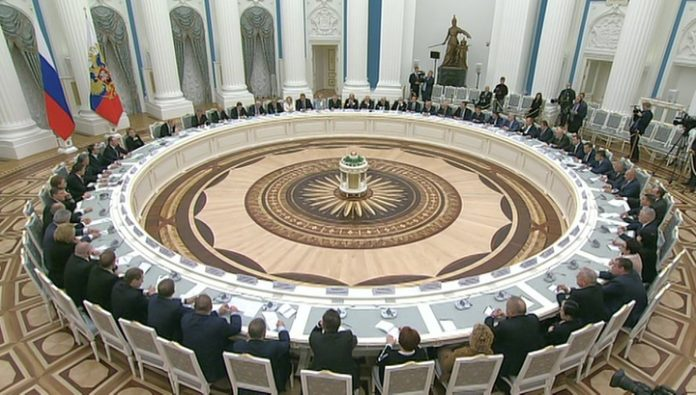 Putin: it is necessary to consider the establishment of a unified system of public authority