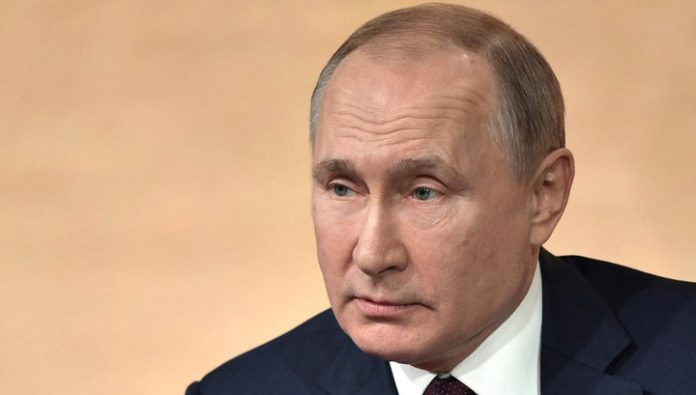 Putin made the list of politicians that shaped the decade
