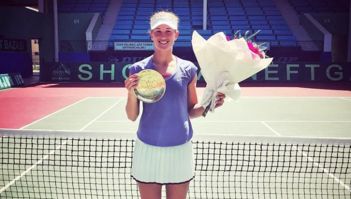 Russian Doroshina soared 67 places in the title race WTA