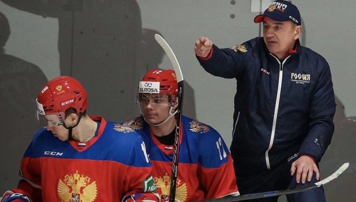 Russian Junior team they need to beat their peers from Germany