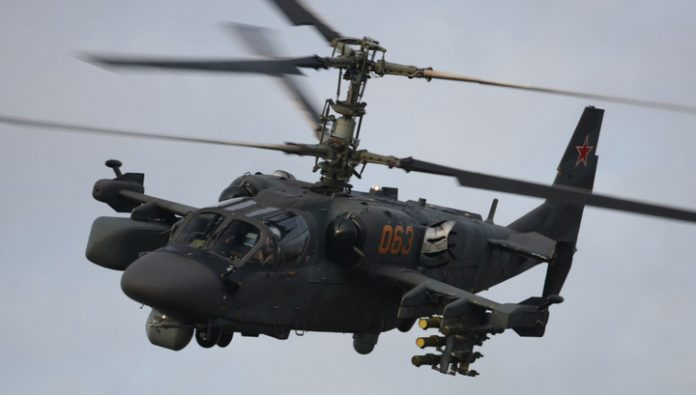 Russian military received 20 attack helicopters