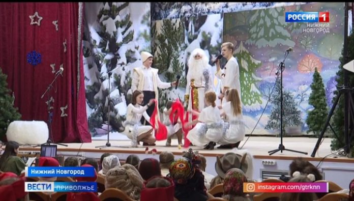 Santas of the peoples of Russia competed in Nizhny Novgorod