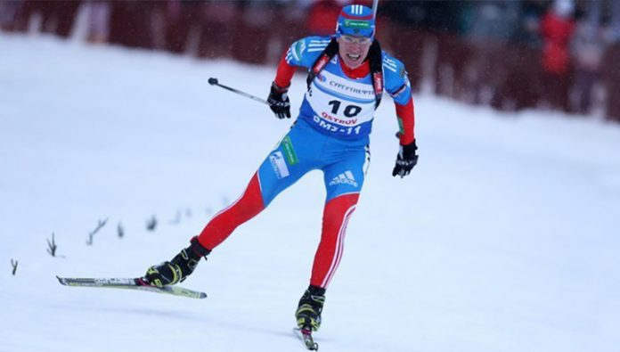 Slepov won the individual race in