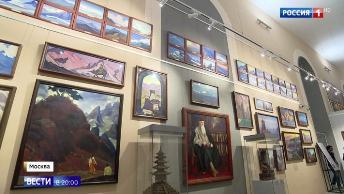 Social activists fear for the fate of paintings by the Roerichs at ENEA