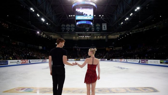 Tarasova and Morozov skaters lead after short program at the Cup of Russia