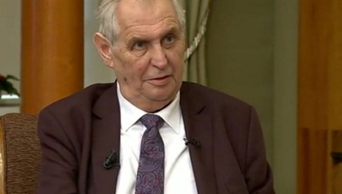 The Czech President could not come to Moscow for the celebration of the 75th anniversary of the Victory