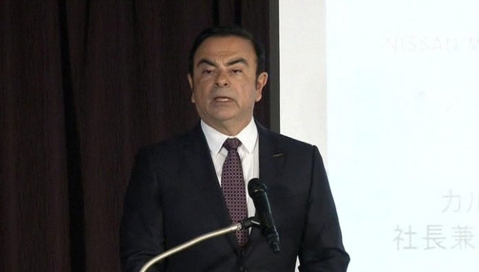 The former head of Nissan, Carlos Ghosn arrived in Beirut from Japan, where he was under house arrest