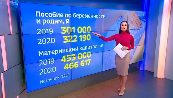 The growth of the parent capital and e-work book: what awaits the Russians in 2020