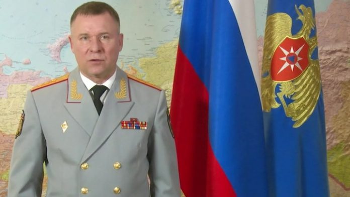 The head EMERCOM of Russia Evgeny Senichev congratulated the colleagues with the Day of the rescuer