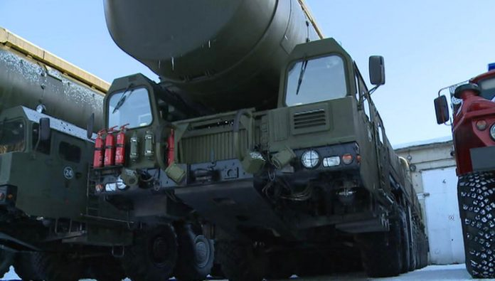 The latest missile systems will go into service the strategic missile forces