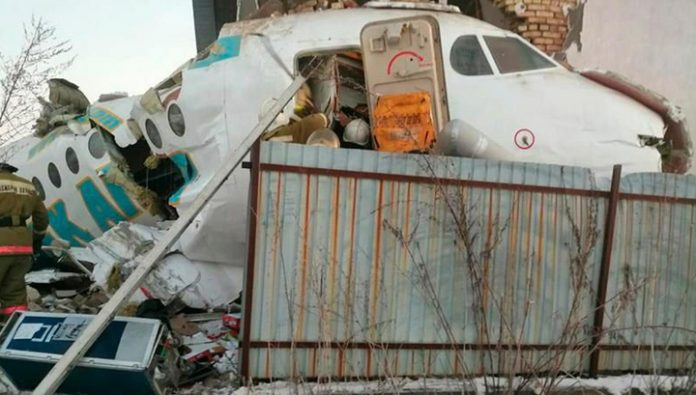 The number of victims of the crash in the Alma-ATA grew to 14 people