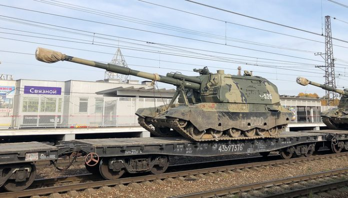 The Russian army received another batch of upgraded howitzer