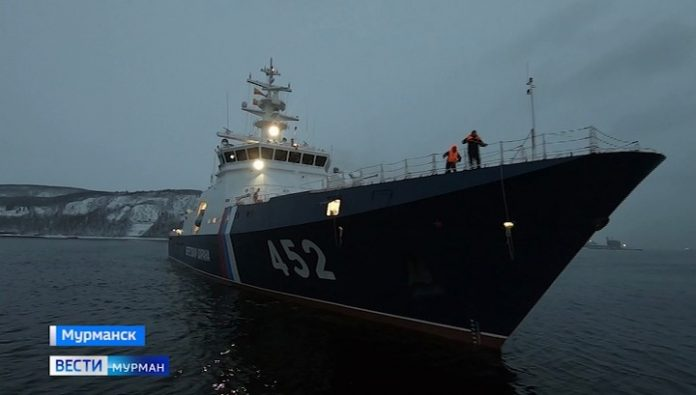 To protect the Western Arctic area will be the new patrol ship