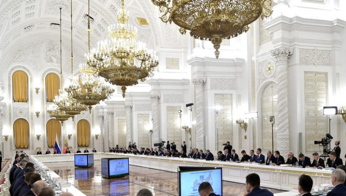 Vasily Orlov took part in the meeting of the state Council on APK
