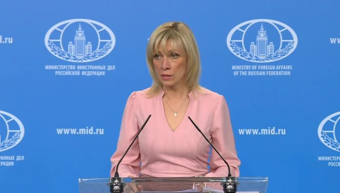Zakharov: USA Western traditions put my feet up on the table of world politics
