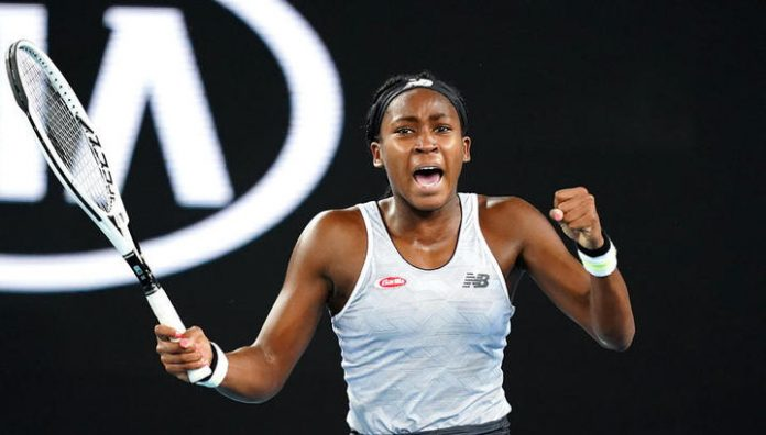 15-year-old Corey gauff are defeated Venus Williams at the start of the Australian Open