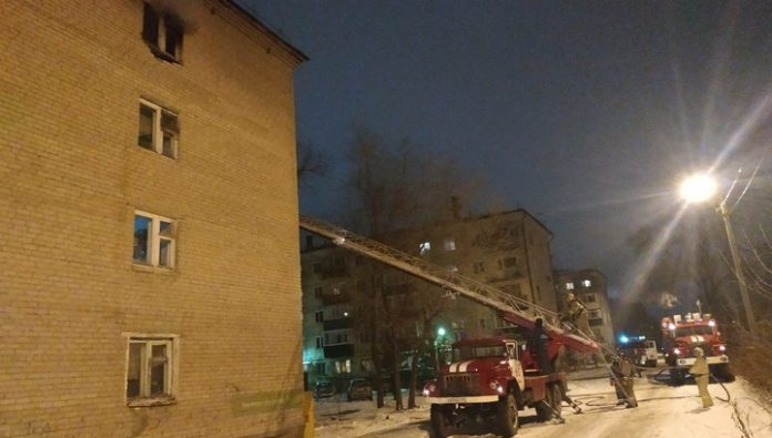 A fire in a hostel in Syzran extinguished