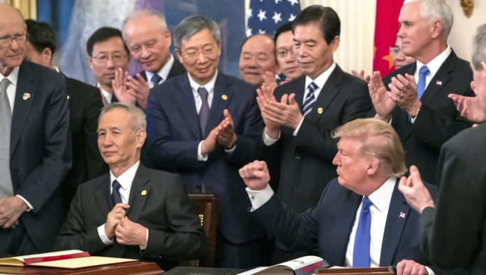 A new era in relations between the US and China: details of a trade transaction