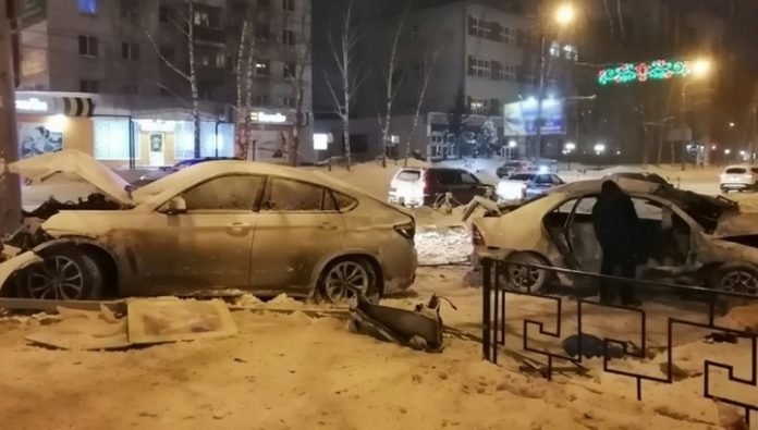 A resident of Tomsk were killed by a drunk driver BMW X6