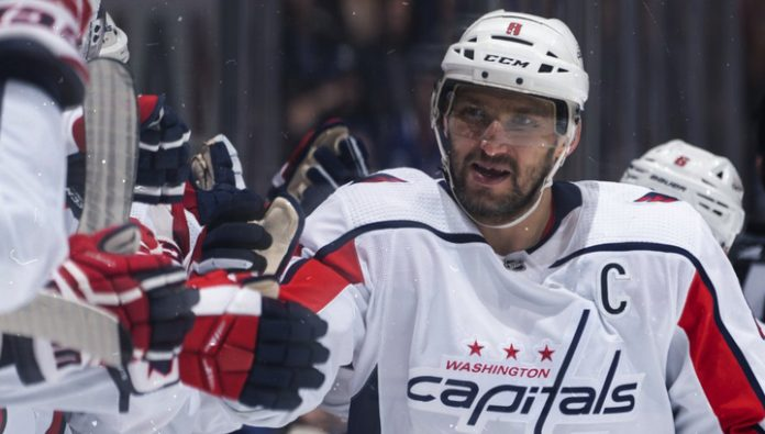 Alexander Ovechkin entered the top 10 snipers in NHL history