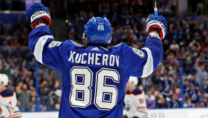 And Sergachev Kucherov helped