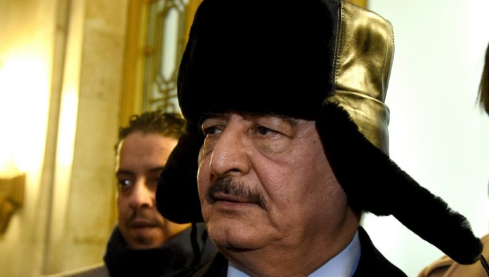 Arrived in Moscow the Libyan Marshal Haftarot